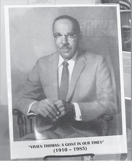 (2007) An exhibition which documented the life and work of Vivien Thomas. (AFRO File Photo)