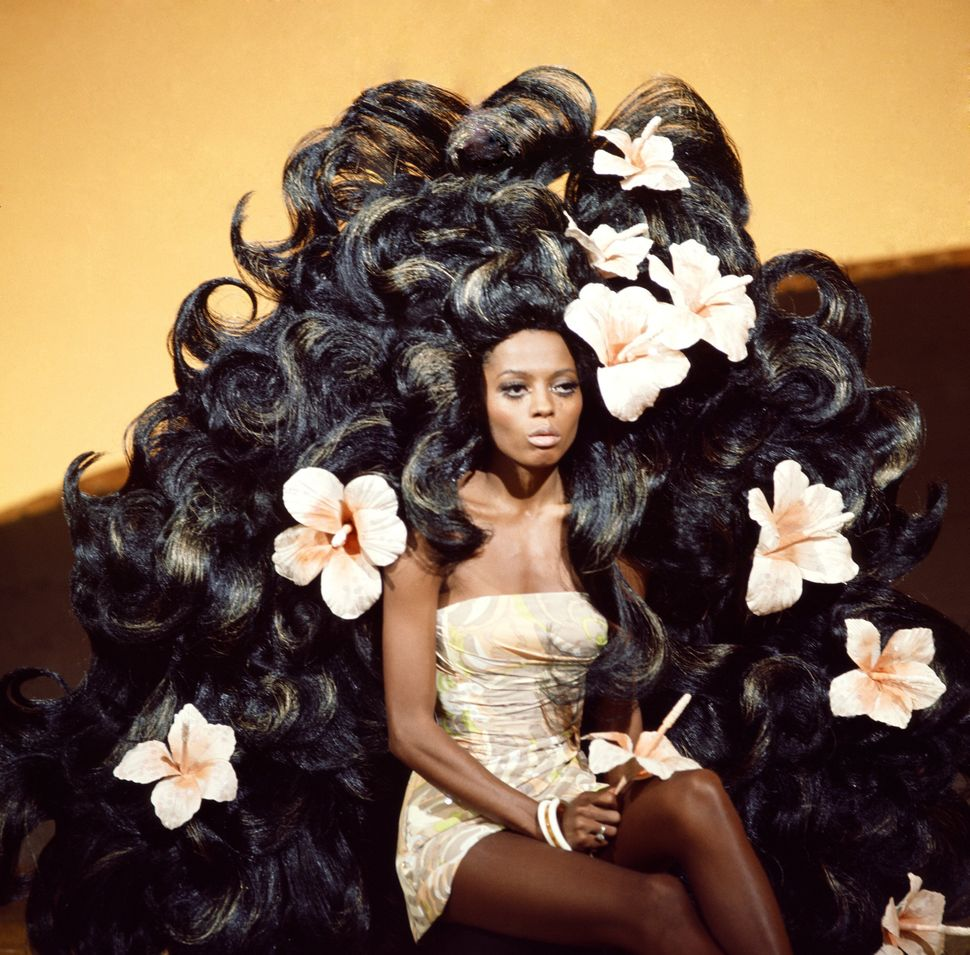 """Diana Ross of The Supremes on Broadway's """"G.I.T. (Gettin' It Together),"""" whichaired on Nov. 12, 1969."""