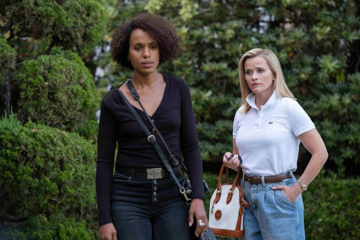 "Kerry Washington and Reese Witherspoon in ""Little Fires Everywhere."""
