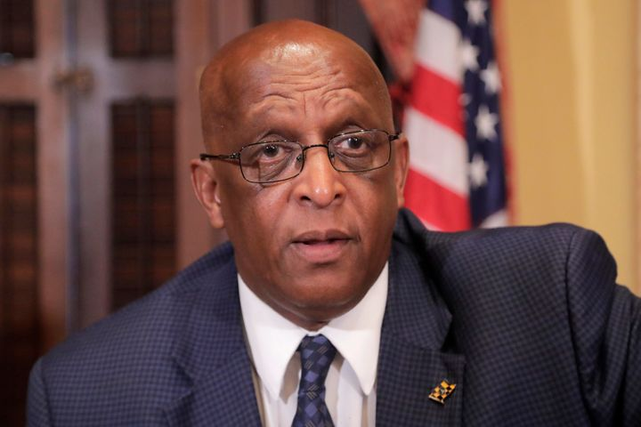 """Baltimore Mayor Bernard """"Jack"""" Young is urging President Donald Trump to cancel his scheduled Memorial Day visit"""