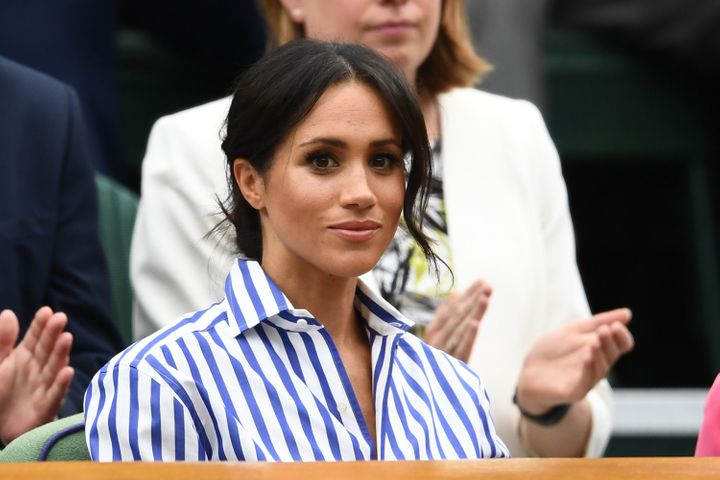"""Prince Harry said last year that his wife, Meghan Markle, """"has become one of the latest victims of a British tabloid press th"""