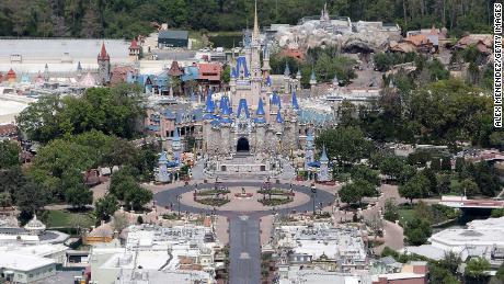 Disney World sets reopening date