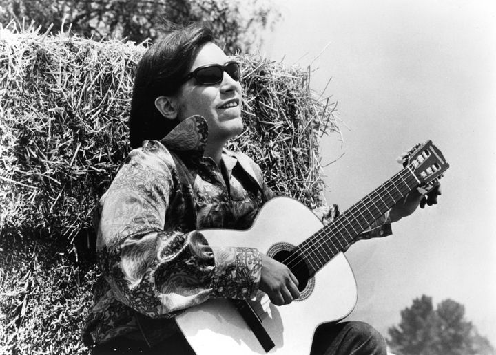 "José Feliciano started playing the guitar at 9 years old. ""I fell in love with the guitar. I heard the guit"