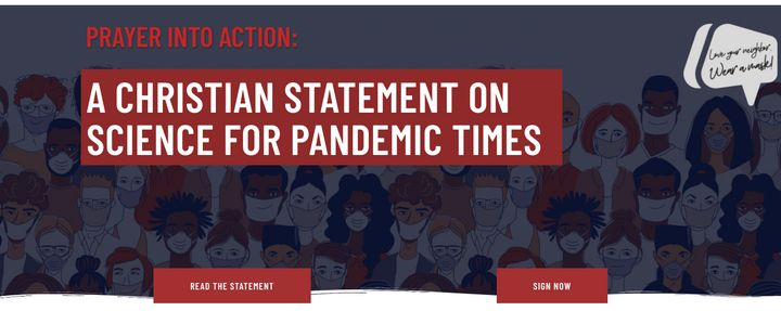 Over 4,000 people have signed a statement calling onChristians to follow the advice of public health experts and suppor