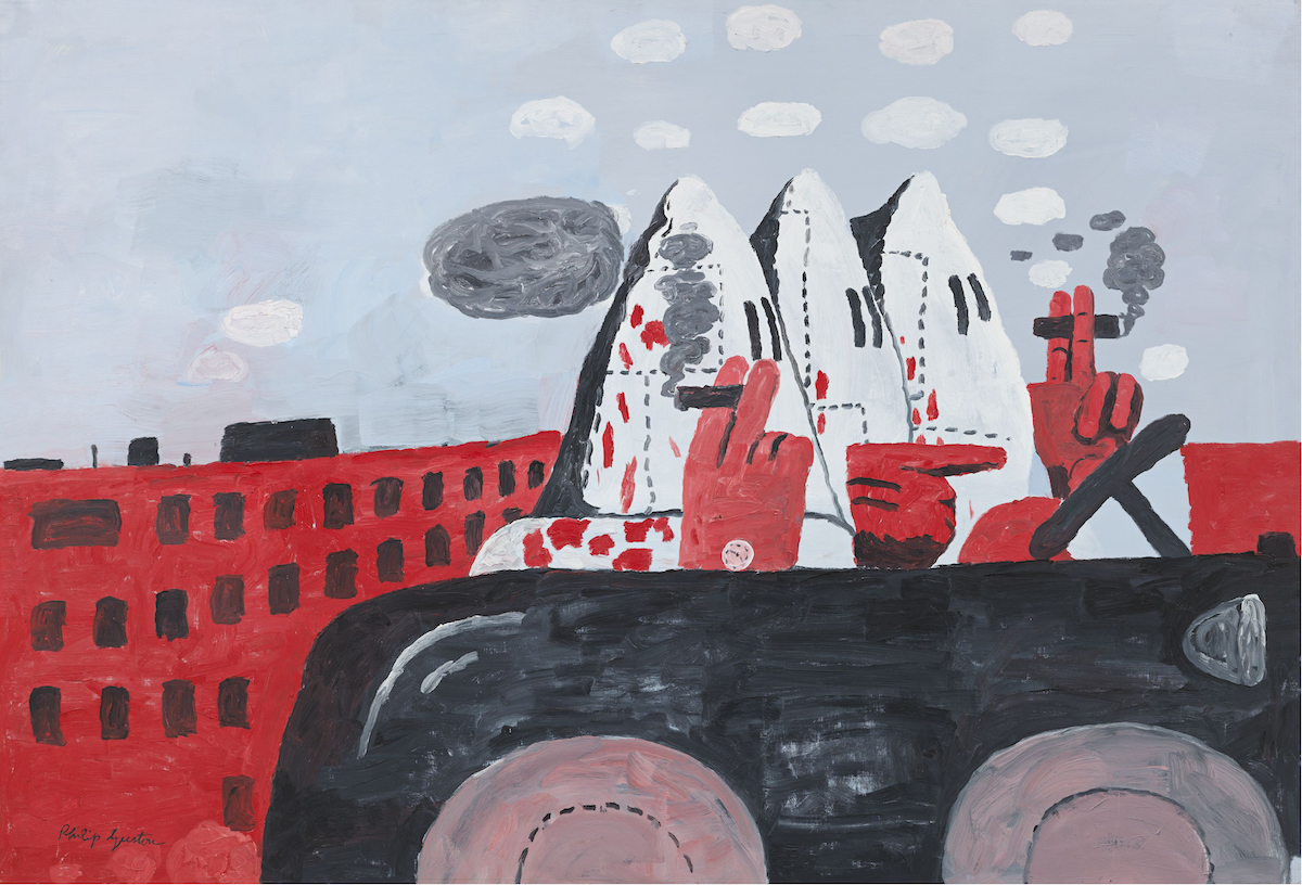 Philip Guston, 'Riding Around', 1969. Three