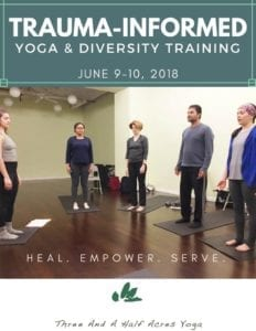 TRAUMA-INFORMED yoga diversity training 2018