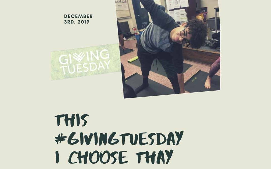 Give the gift of Yoga this #GivingTuesday