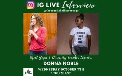 IG LIVE with Donna Noble – October 7th