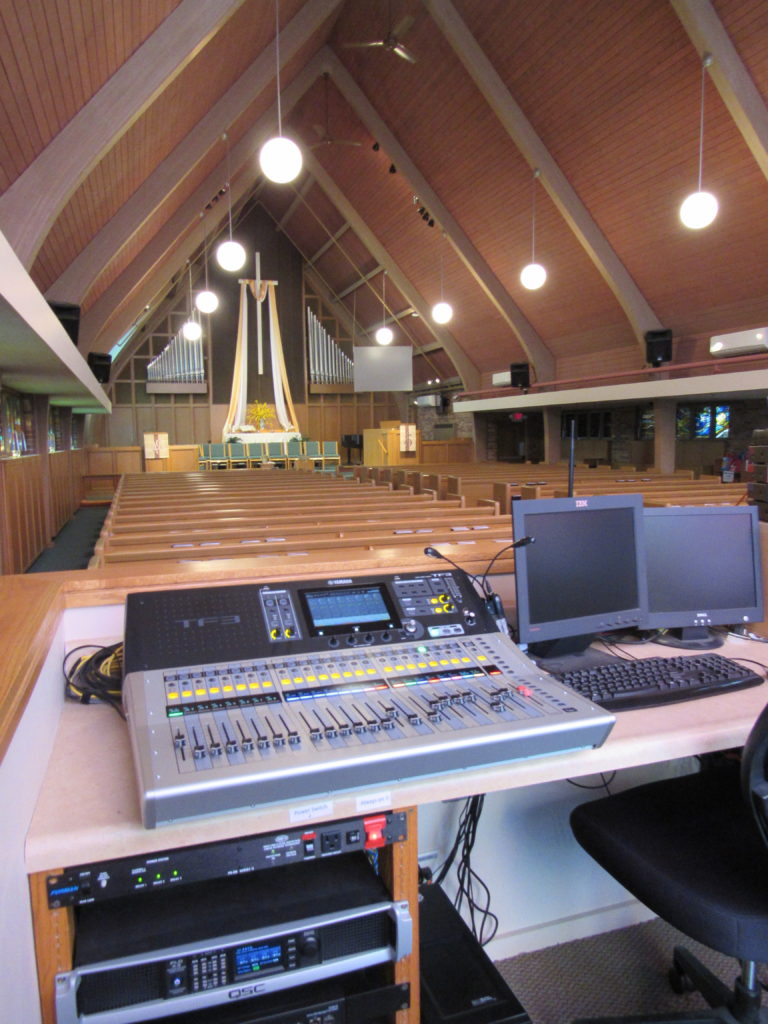 house of worship audio video