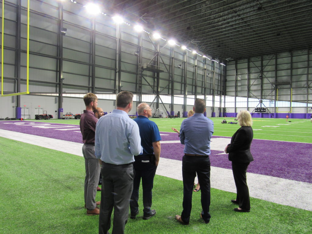 Vikings practice facility tour