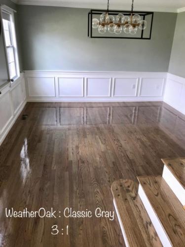 Weather Oak : Classic Gray
