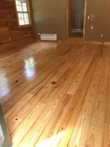 Pine Hardwood Installation and Refinishing