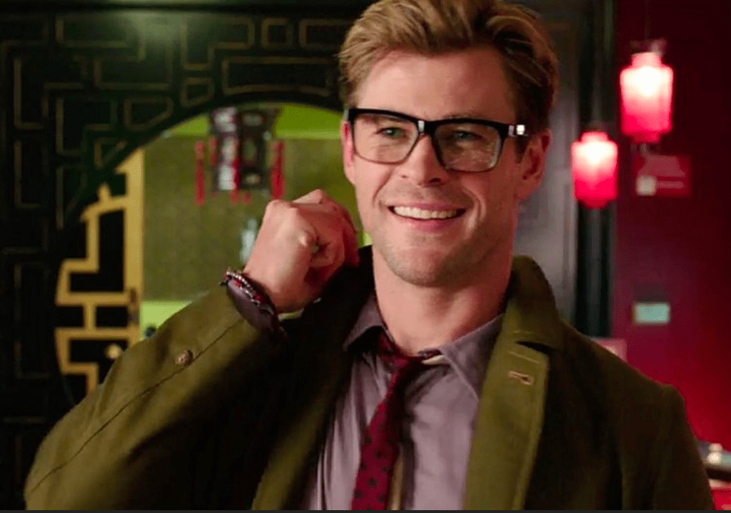 Nerdy Chris Helms from Ghostbusters