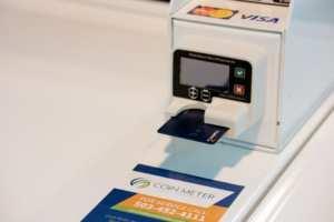 debit credit payment option
