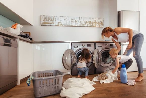 Teach Your Kids How to Do Laundry During This Downtime