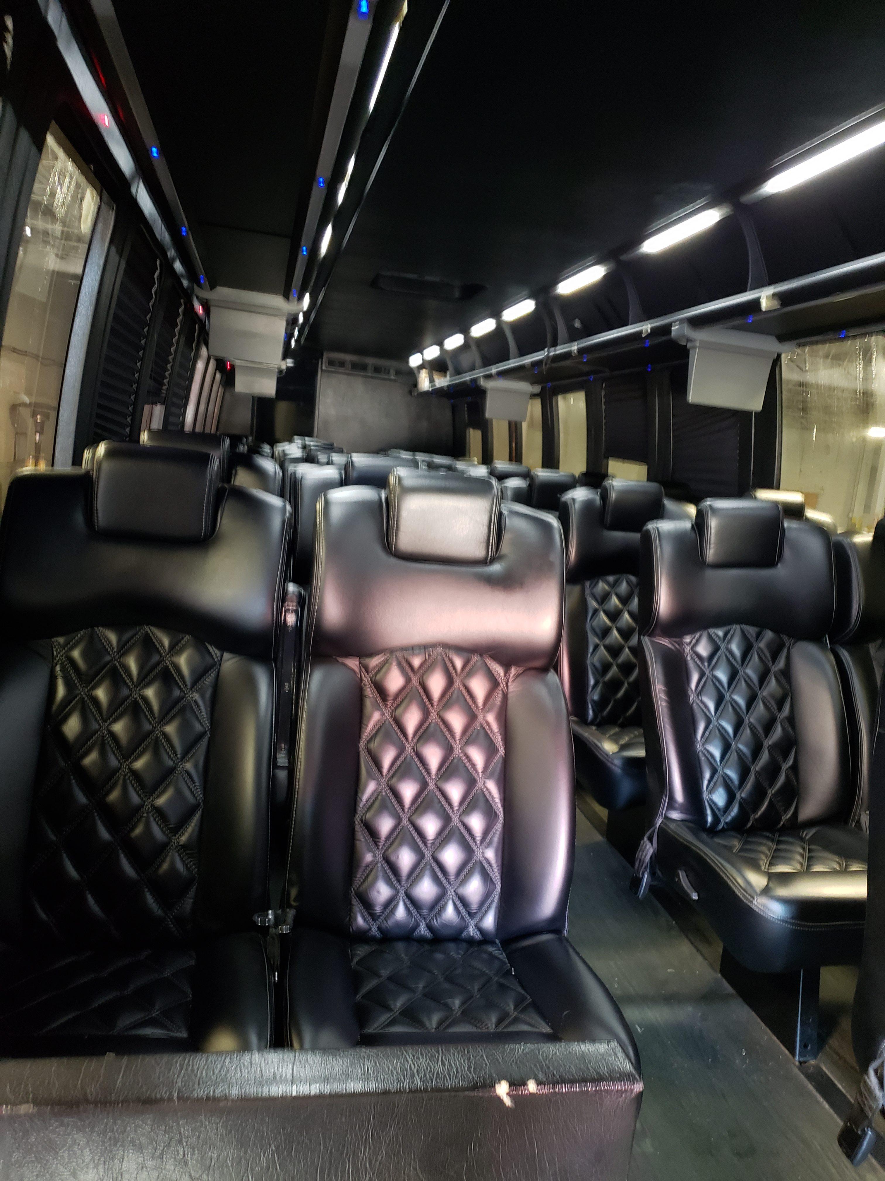 40 Passenger Shuttle Bus