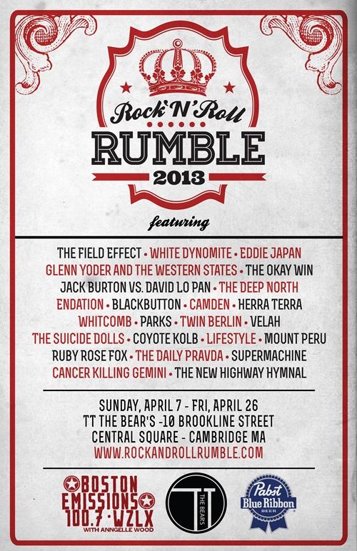2013 Rumble | Tyler Littwin, designer