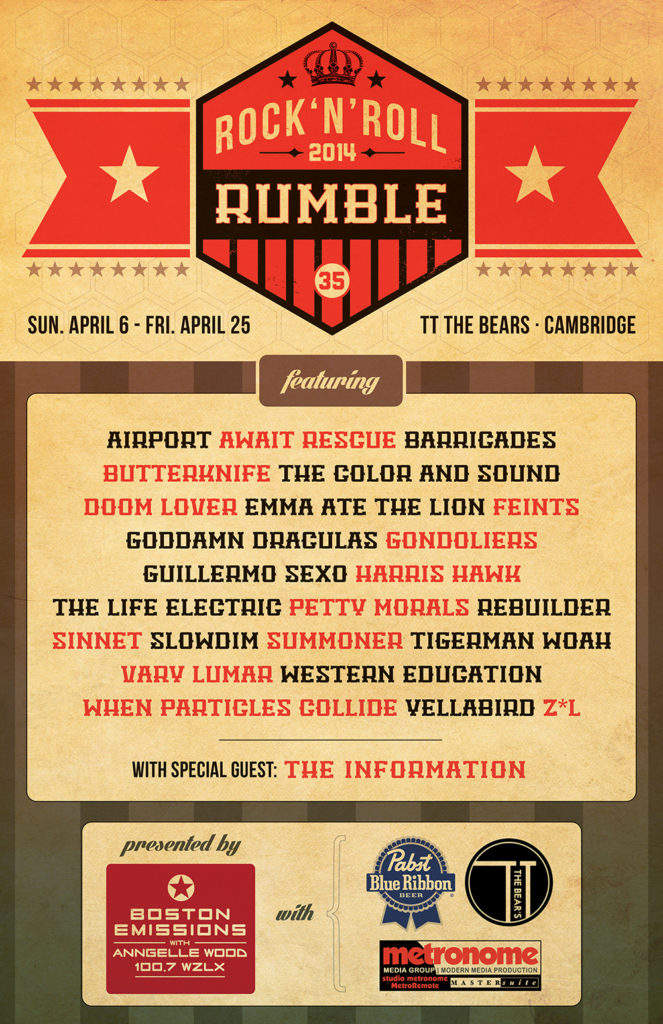 2014 Rumble | Tyler Littwin, designer