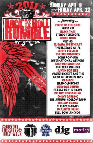RUMBLE 2011
