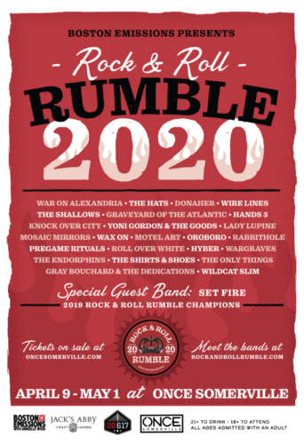 RUMBLE 2020 APRIL