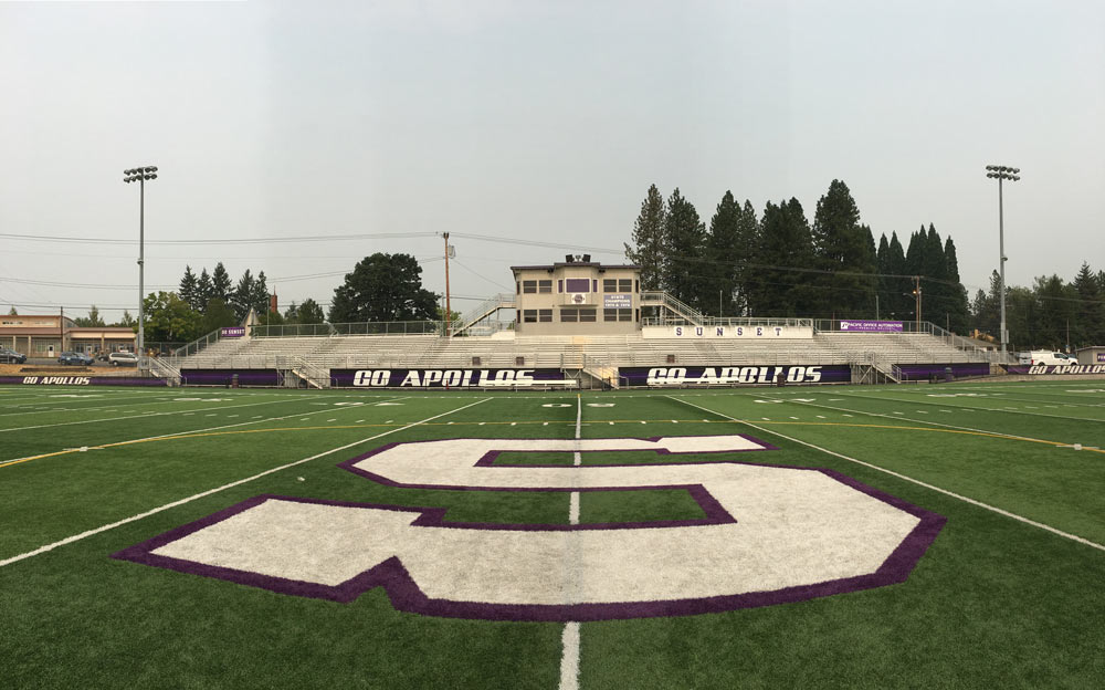 Sunset High School Stadium
