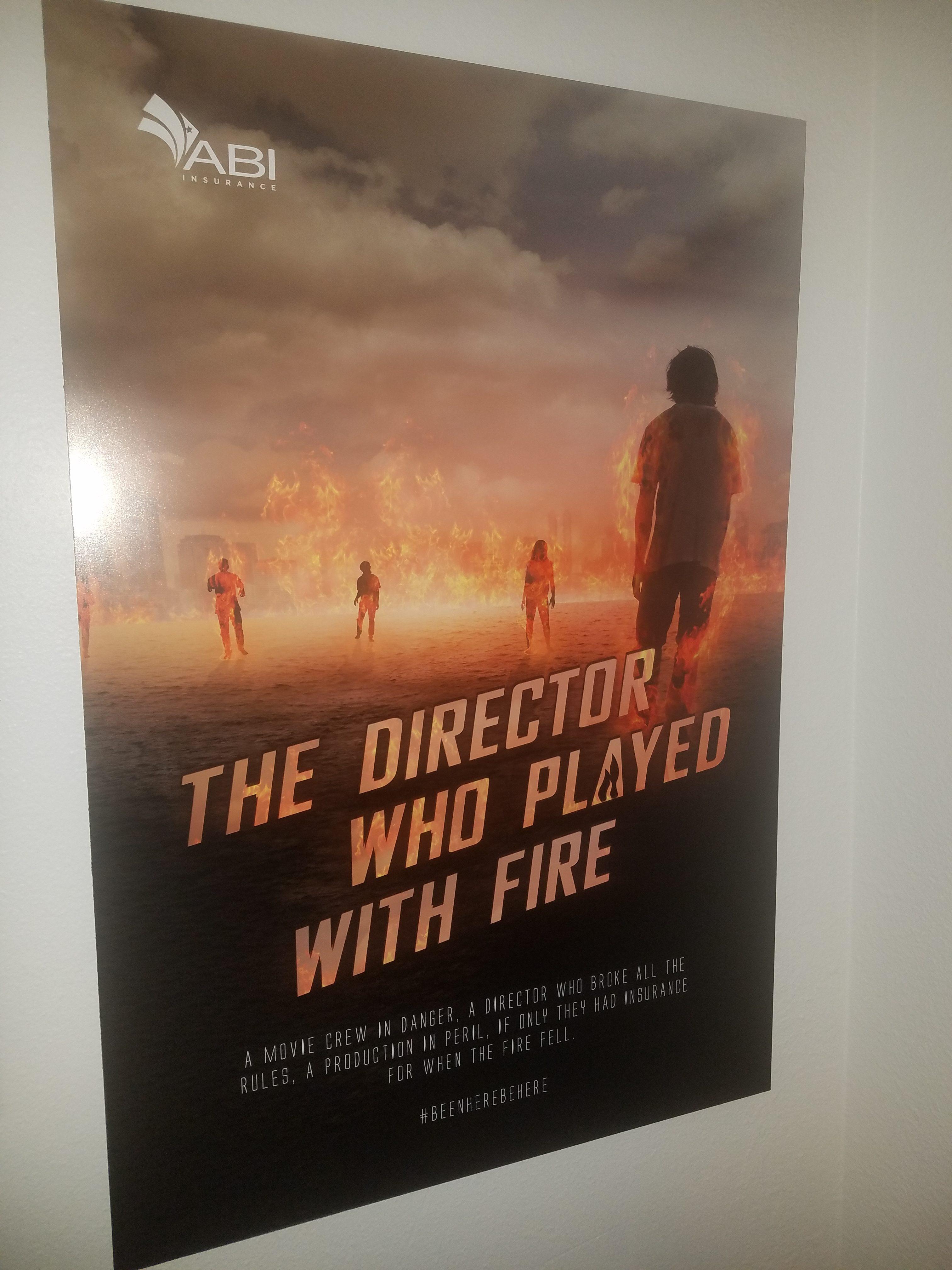Lobby Brand Poster