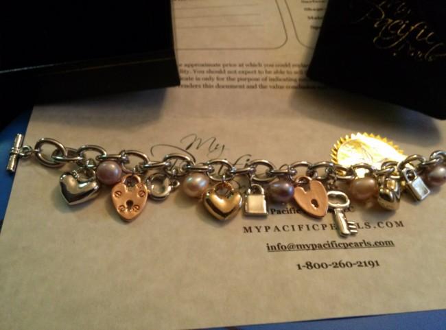 My Pacific Pearls Bracelet.