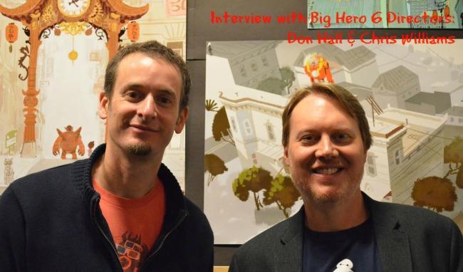 Chris williams and don hall, big hero 6 directors #bighero6event