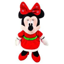 Kids Preferred - Disney Mickey Mouse & Friends Minnie Mouse Holiday Plush Toy by Kids Preferred