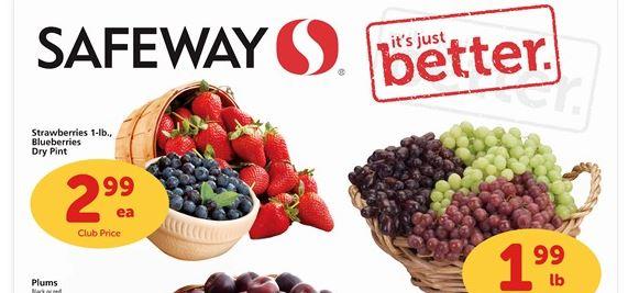 safeway berries sale