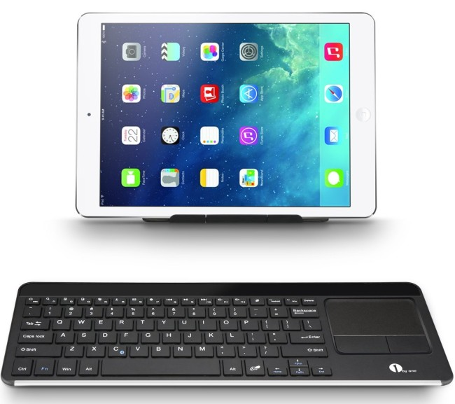 1byone Wireless Bluetooth Keyboard with iPad