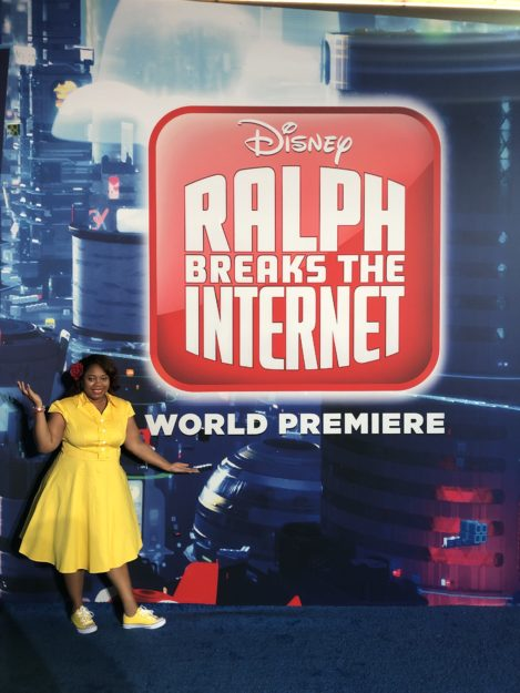 Ralph Breaks the Internet Red Carpet Premiere