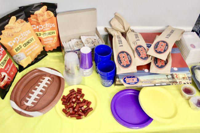 Food Football BabbleBoxx #FoodFootballBBoxx