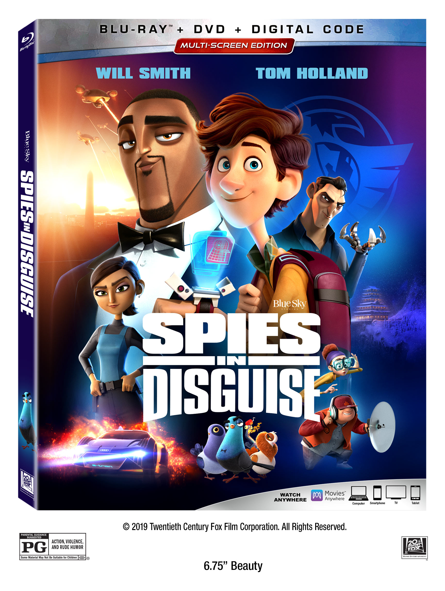Spies in Disguise Available to Own Now