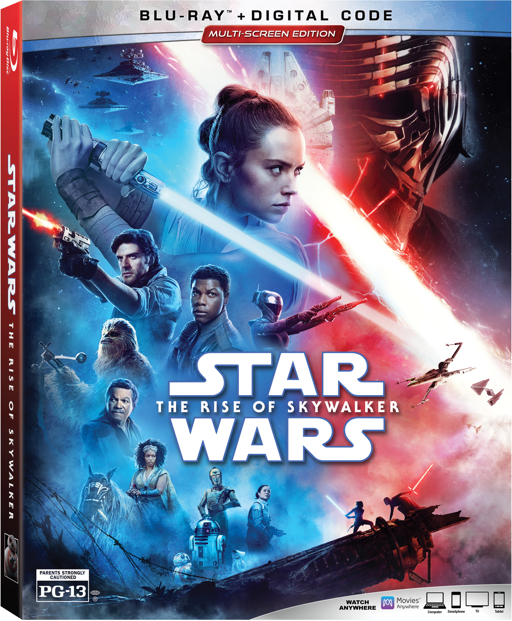 Star Wars Rise of Skywalker Available to Own Today