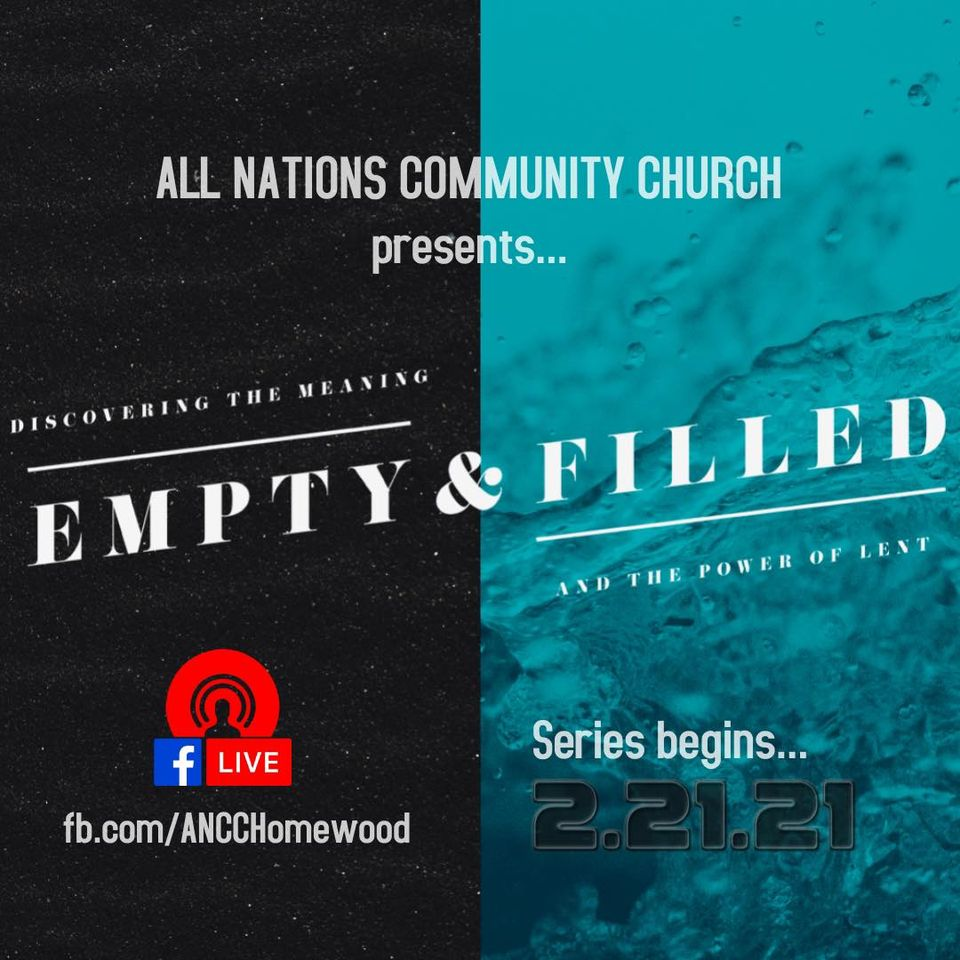 Empty & Filled: Discovering the meaning and the power of Lent.