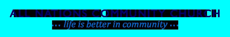 All Nations Community Church Logo