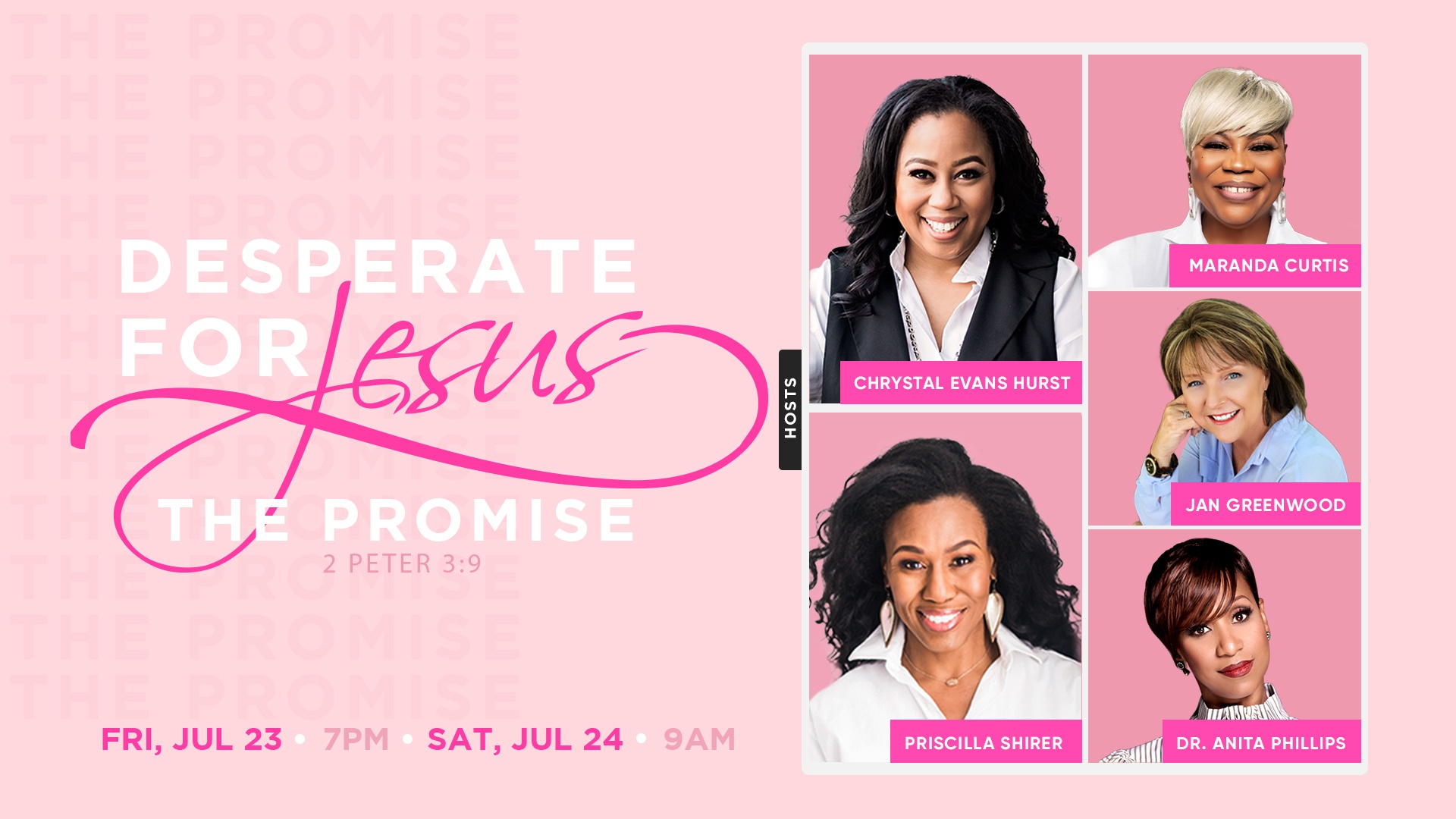 2021 Desperate for Jesus Women's Conference