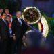 """CIUDAD DE MÉXICO, 19SEPTIEMBRE2017.- Miguel Ángel Mancera, jefe de gobierno de la Ciudad, presidió la """"Ceremonia Cívica Solemne Conmemorativa al 32° Aniversario de los Sismos de 1985"""", en la plaza de La Solidaridad en el centro histórico. FOTO: ADOLFO VLADIMIR /CUARTOSCURO.COM"""