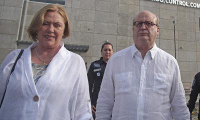 Graco Rámirez y su esposa