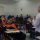 """CIUDAD DE MÉXICO, 25SEPTIEMBRE2017.- 103 escuelas en la capital reanudaron labores tras el sismo de 7.1 grados Richter el pasado martes. Por tal motivo, Aurelio Nuño Mayer, secretario de Educación Pública, declaró que aún quedan afectadas alrededor de 10 mil escuelas en el país,, esto durante su asistencia a la escuela secundaria """"Deporte para todos"""" en compañía de elementos de la Marina y el Ejército para dar a conocer las acciones consecuentes. FOTO: GALO CAÑAS /CUARTOSCURO.COM"""