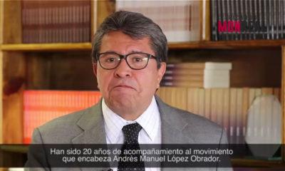 Ricardo Monreal anuncia su salida de Morena