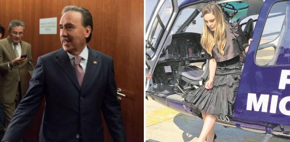 Se dio a conocer que Emilio Gamboa Patrón hizo uso de un helicóptero de la Fuerza Aérea Mexicana para ir a jugar golf