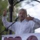 AMLO, presidente nacional de Morena, dijo estar anonadado por la declaración de Meade