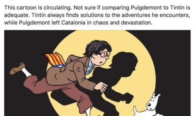 Tintin y Puigdemont