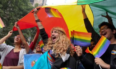 Marcha del Orgullo Gay en la India pese a que en ese país ser gay es un delito y se castiga con cárcel