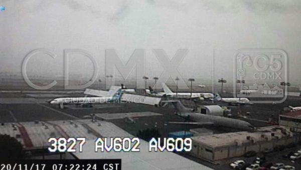 AICM opera normal, tras afectaciones por niebla