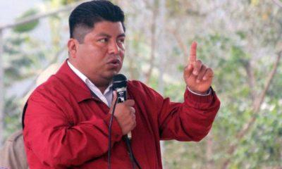 Antorchistas exigen cárcel para asesinos de alcalde asesinado en Puebla