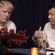 Donald Trump conversa con Rodrigo Duterte en la gala de bienvenida