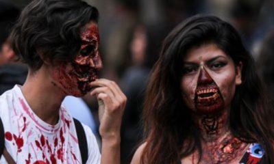 Zombies tomaron las calles de Sao Paulo